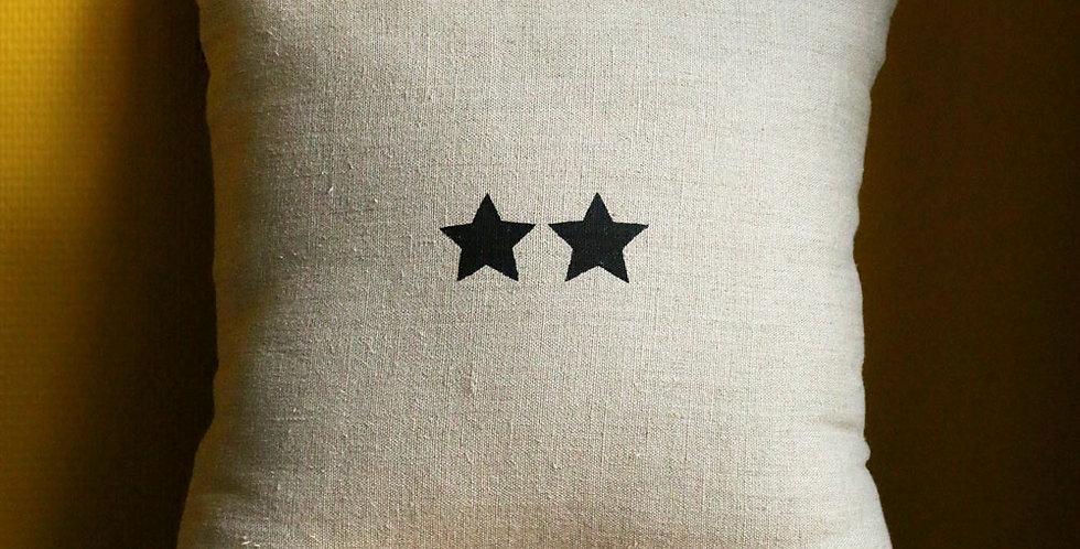 Coussin - Les deux étoiles