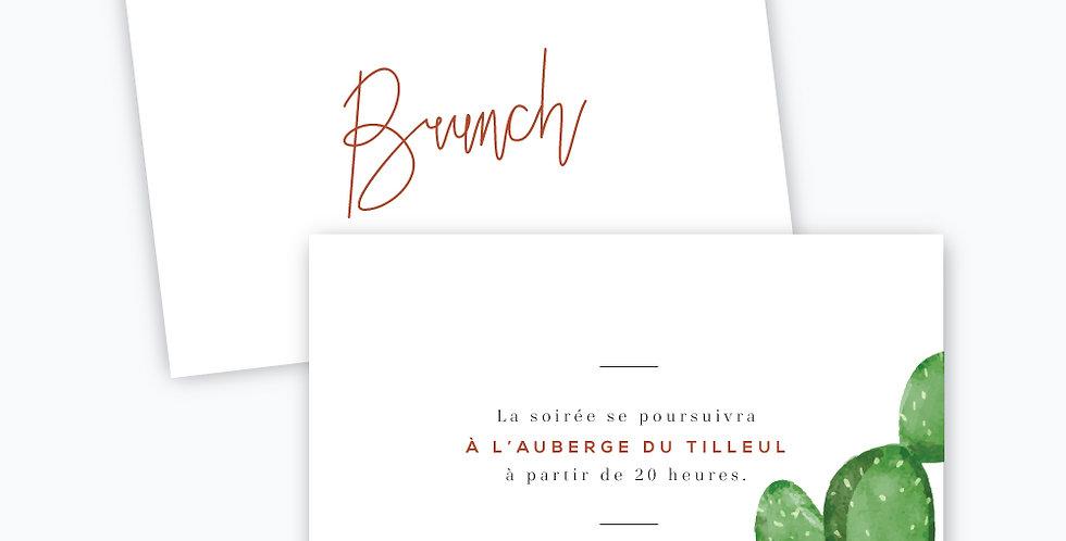 Carton brunch - Terra Cactus
