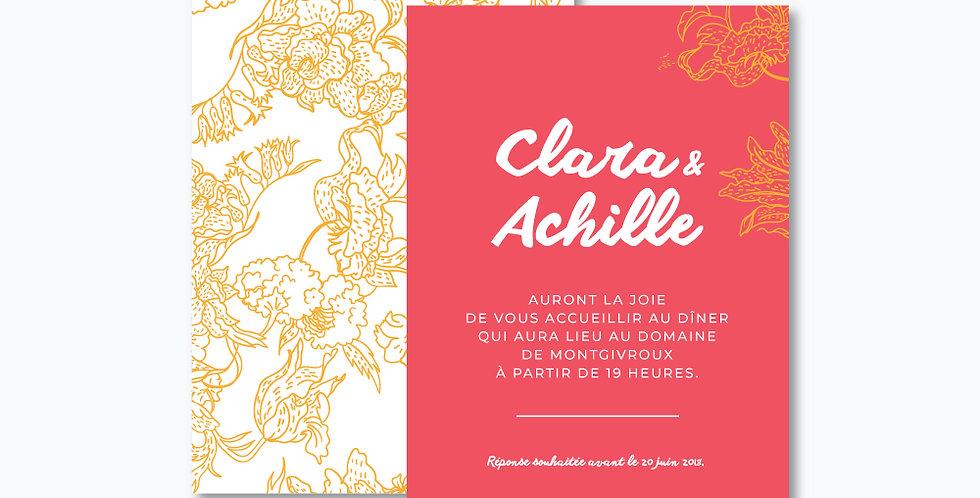 Carton soirée - Hortense