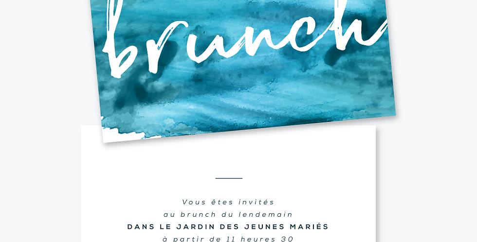 Carton brunch - Amour encré