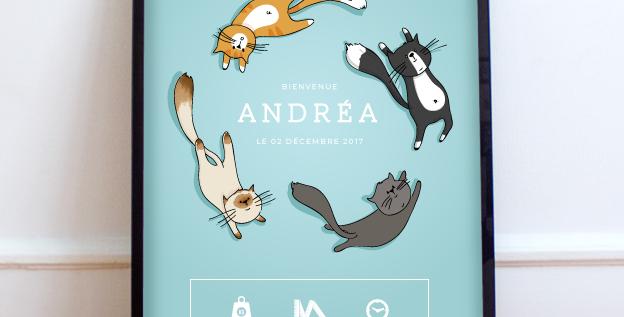 Affiche - Petits Chats