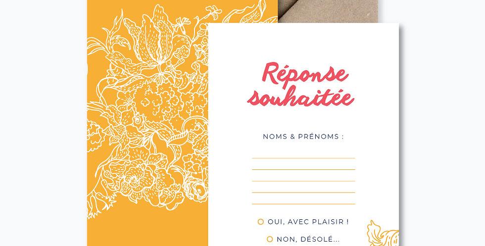 Carton réponse - Hortense