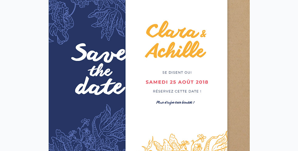Save the date - Hortense