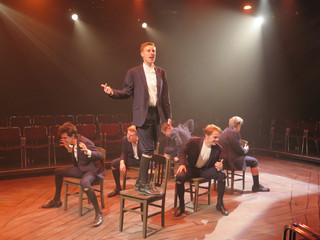 Christopher as Otto in Spring Awakening at Mill Mountain Theatre