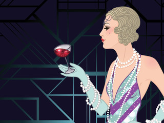 Christopher Co-Directs & Co-Creates: Timeless Twenties, An Immersive Prohibition Experience