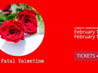 Christopher directs 'My Fatal Valentine' Murder Mystery Dinner Theatre