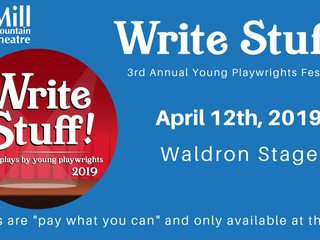 Christopher Coordinates Write Stuff! Young Playwright Festival at Mill Mountain Theatre
