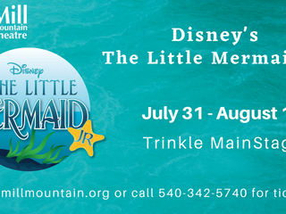 Christopher Directs The Little Mermaid Jr at Mill Mountain Theatre