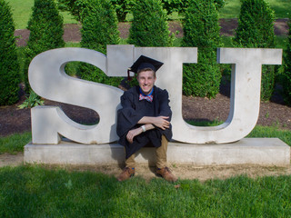 Christopher Graduates from Shenandoah University