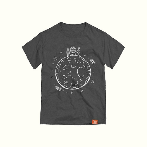 Robot House on the Moon T-Shirt