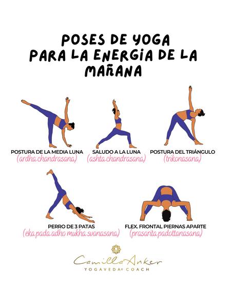 18 Posturas de Yoga para Crear tu Rutina Matutina Ideal