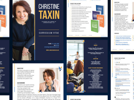 Christine Taxin Speaker Packet