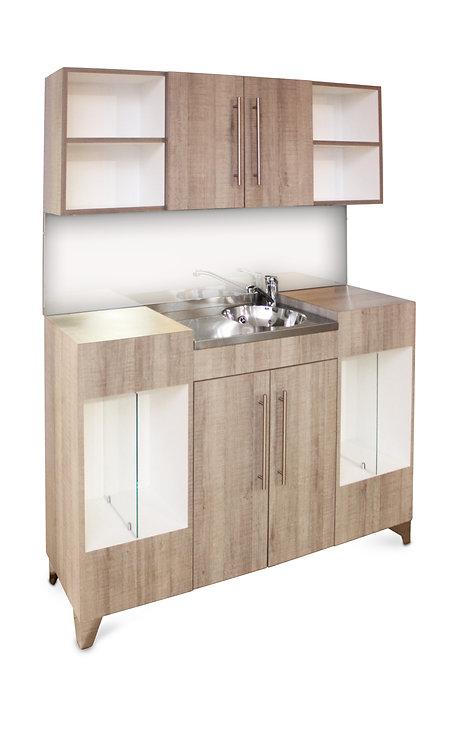 OPAL Vanity Unit With Upper Storage
