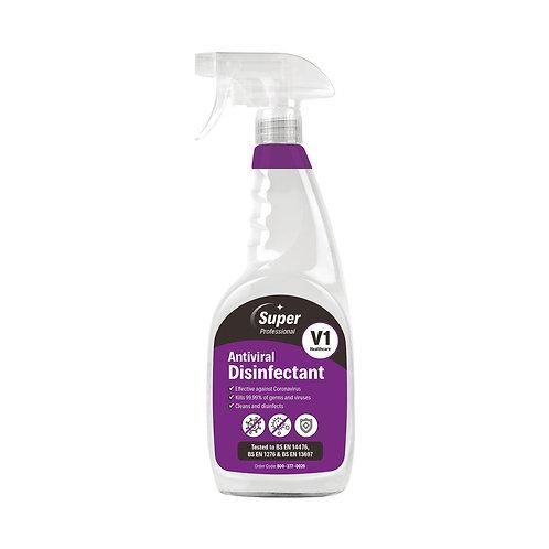 Antiviral Disinfectant Trigger Spray 750ml