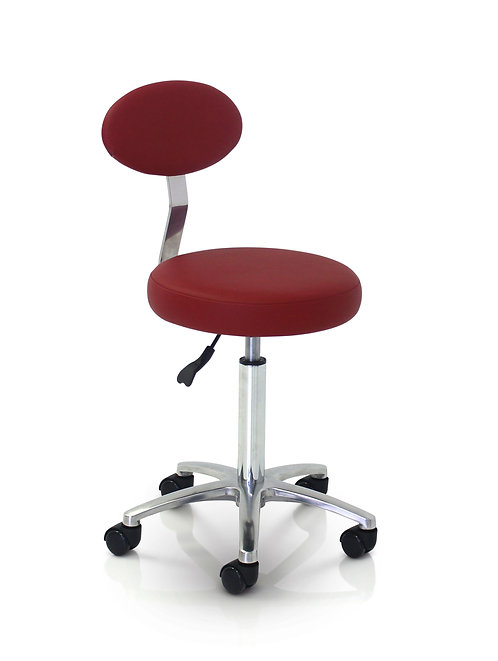 CUTTING  Stool With Backrest - Colours