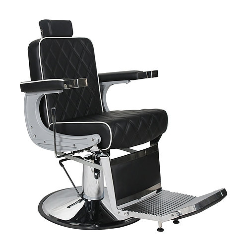 CHRYSLER Barber's Chair - Black with White Piping