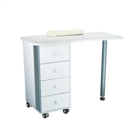 SINGLE Manicure Table - White