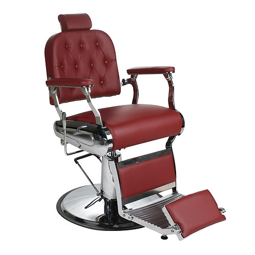 EMPIRE Barbers Chair -  Red