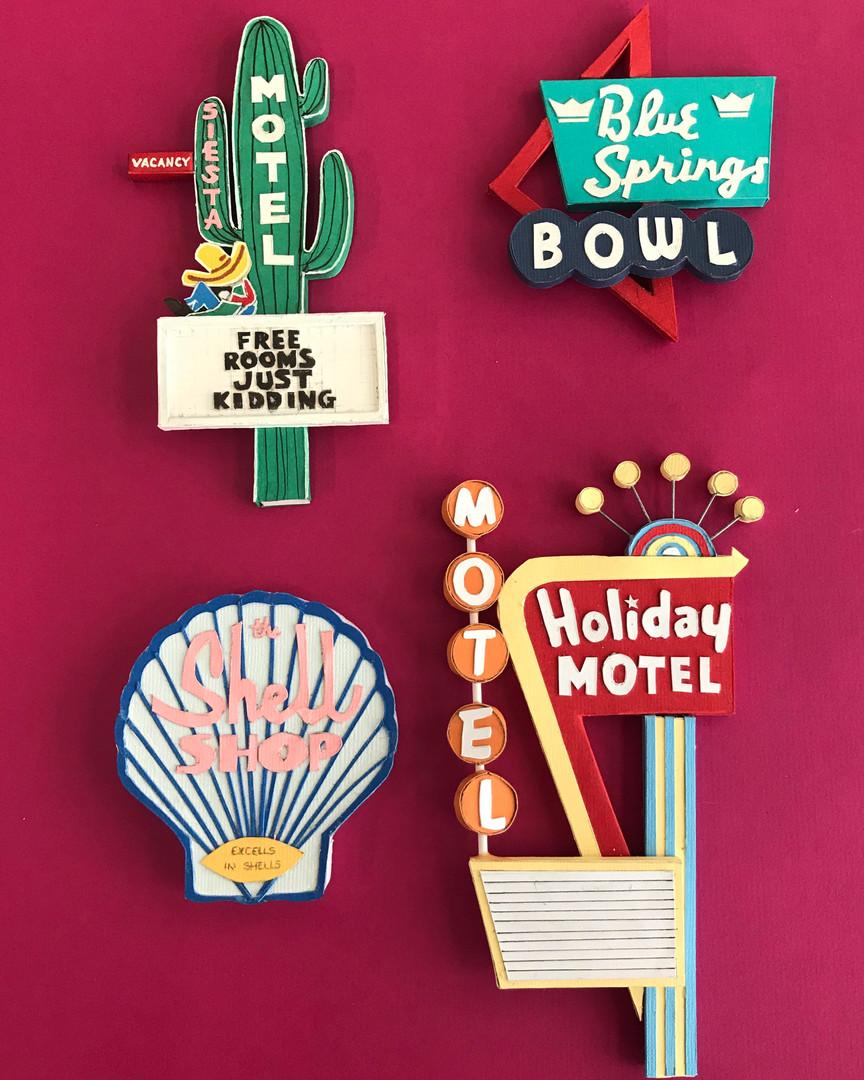 Motel Signs Models