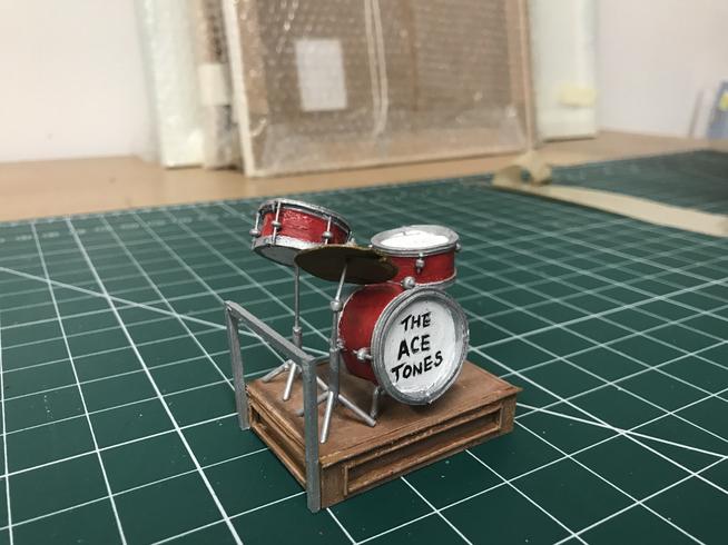 Drum Kit Model Piece