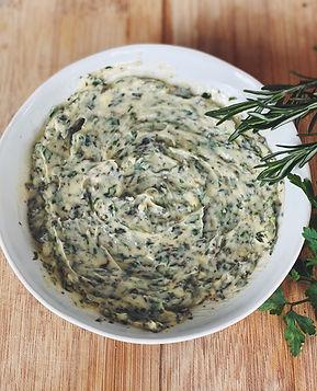 garlic herb buttter