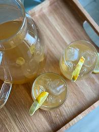Bourbon Lemon Sweet Tea