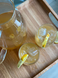 Bourbon Lemon Sweet Tea