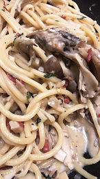 Alfredo Wild Mushroom Pasta