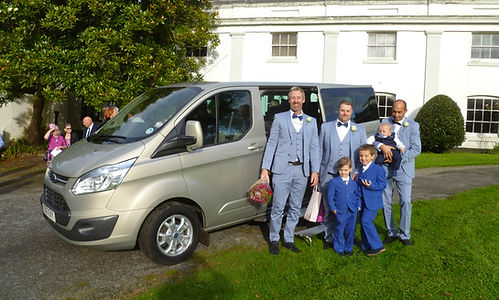 Wedding Cars Torbay 8 Seater Minibus Wedding Guest Transport Torbay and South Devn
