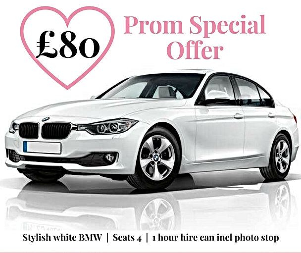 Prom Car Hire in Devon