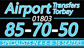 Honeymoon transport from Torbay to Exeter Airport, Torbay to Bristol Airport, Torbay to Heathrow, Torbay to Gatwick, Torbay to Southampton, Torbay to Birmingham