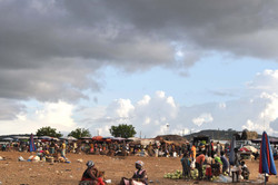 Market Day at dusk