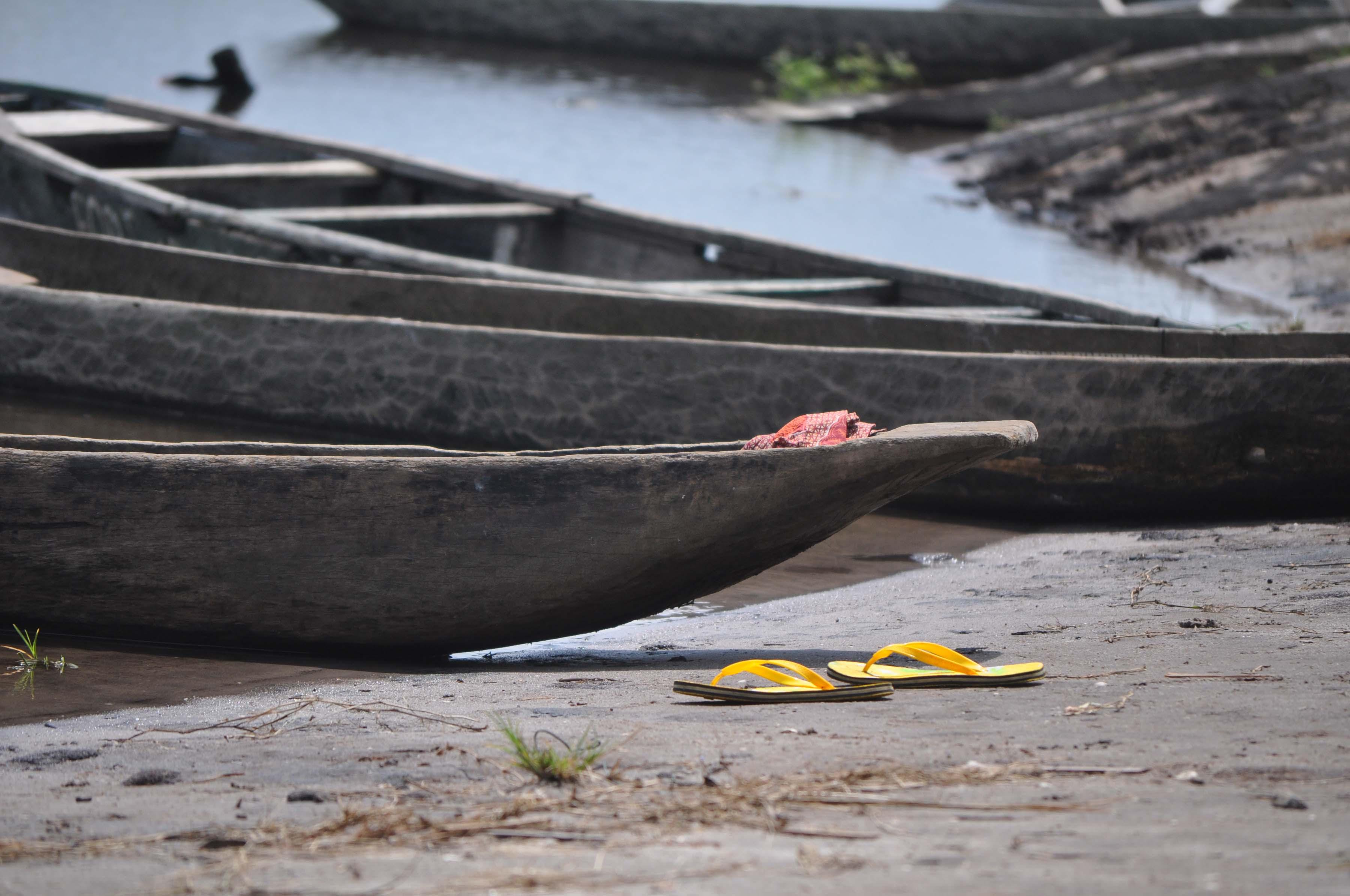 Canoe & slippers