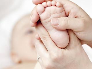 Initiation massages bébés !