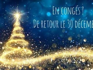 Break de Noël !