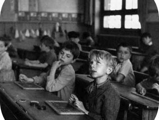 Retour sur les bancs de l'école !