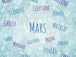 Les beaux bébés de Mars !
