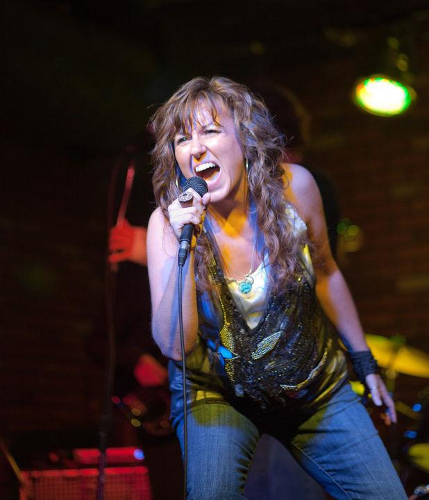 Jenn Flaa Rocking The Stage