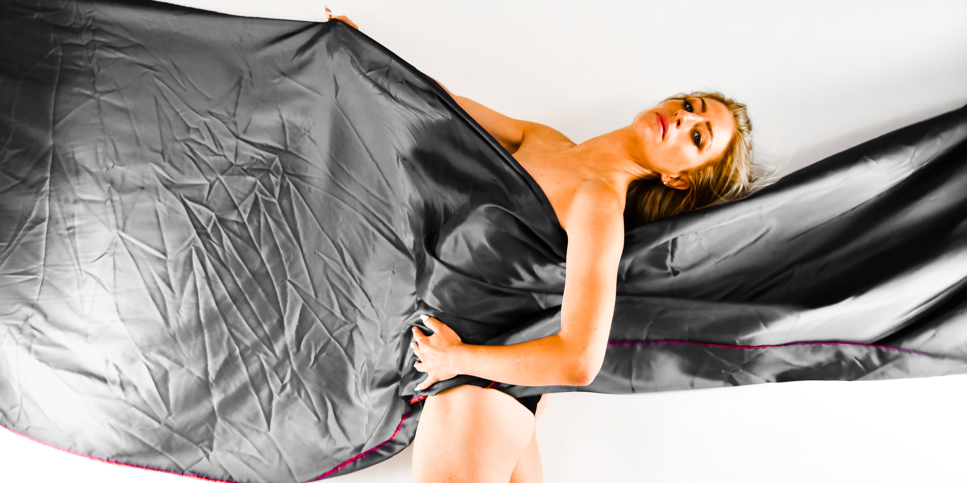 Let the Fabric Move you in Black & Red