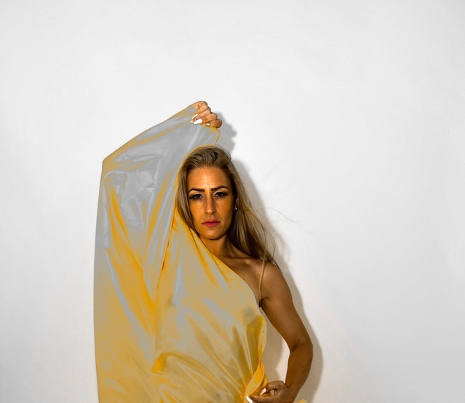 Let the Fabric Move You in Gold