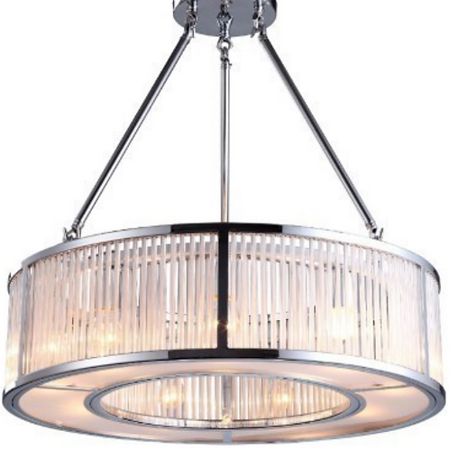 "ART DECO CHANDELIER ""ARTHUR"""