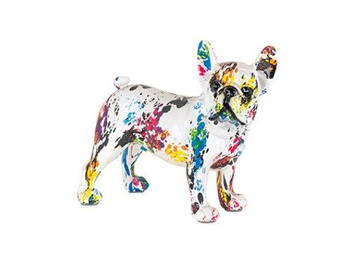 Dog Canela graffity