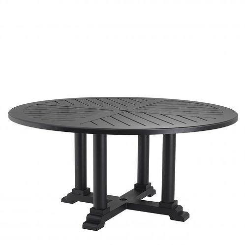 Dining Table Bell Rive ø 160 cm Black