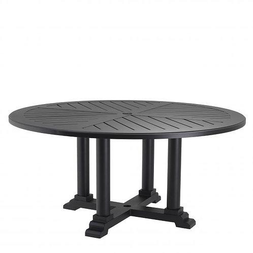 Dining Table Bell Rive ø 130 cm Black