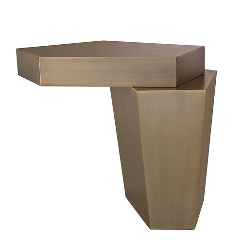 Coffee table CALABASAS brass high