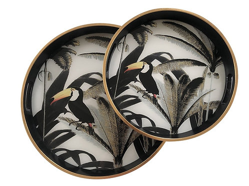 "Tray Mirror ""TUCAN"" large"