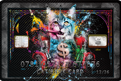 Cat Bank Card - limited Edition