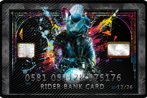 Rider Bank Card - limited Edition