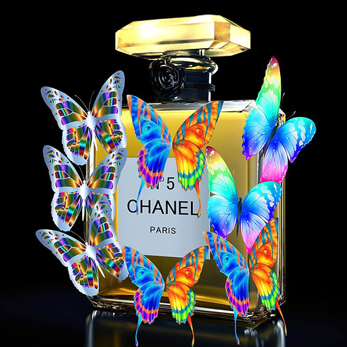 FLACON BUTTERFLY CHANEL - Limited Edition