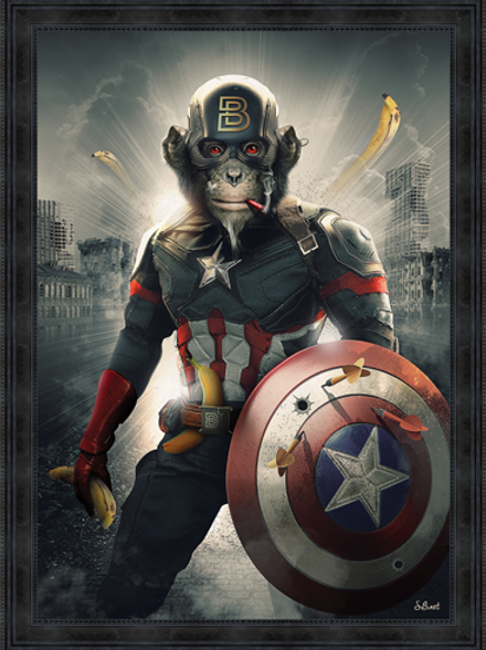 Captain Monkey America - limited Edition